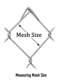 MESH SIZE:  25*25MM / 40*40MM/ 50*50MM / 60*60mm / 70*70mm