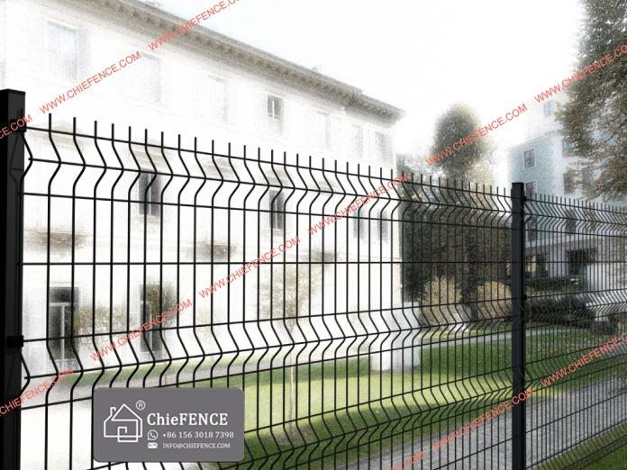 Different Materials Fences