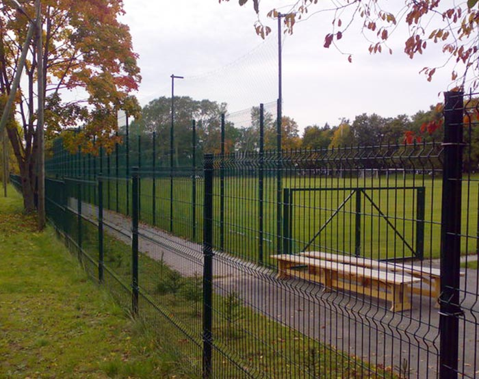 welded mesh fence for park