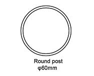 Round Post