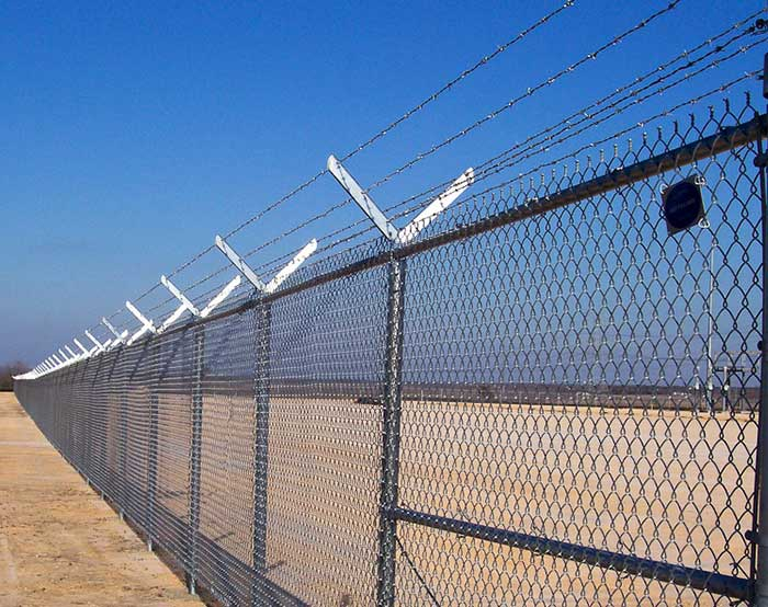 HIgh security fence for boundary