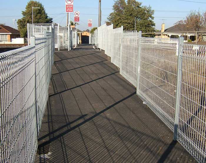 Hot dipped galvanized BRC FENCE