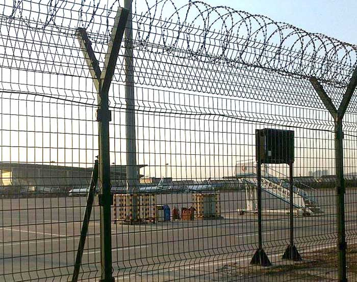 2.5m high Airport fence