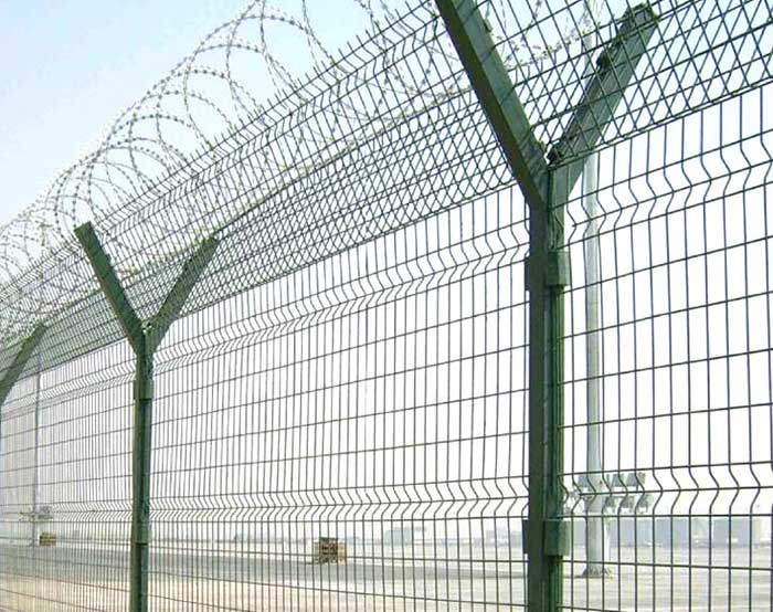 2.7m high Airport fence