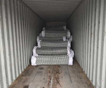 Chain Link Fence Fabric Delivery