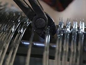 Razor Wire Clip Installation