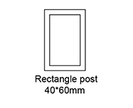 A Rectangle Post