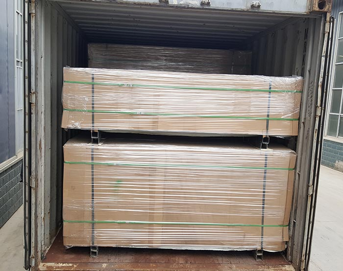 Pallet packing Double wire fence