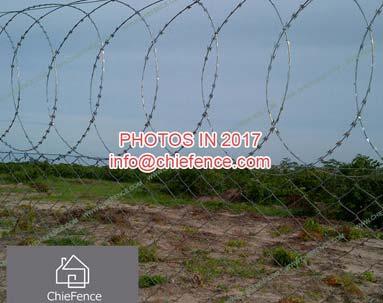 Razor wire for Zimbabwe