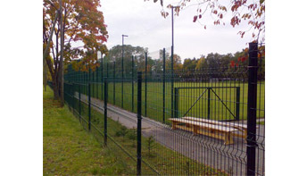 What are the Surface Treatment Methods for Stadium Fences?